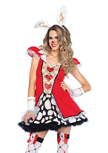 Tick Tock White Rabbit Women's Costume (M/L) -