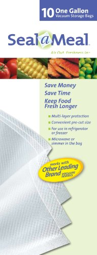 Seal A Meal Gallon Size Bags 10 ct