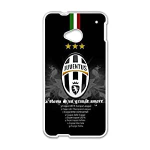 Printed Cover Protector HTC One M7 Cell Phone Case Juventus Nwbrp Unique Design Cases