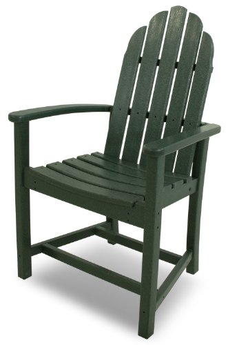 assic Adirondack Dining Chair, Green ()