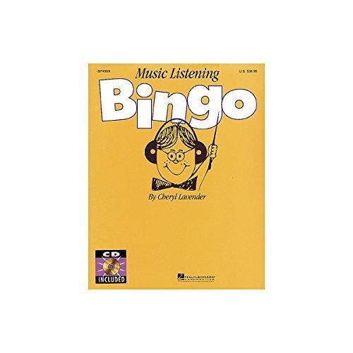 Music Listening Bingo - Hal Leonard Music Listening Bingo by Hal Leonard