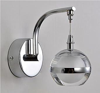 wazz-creativo led parete moderna lampada da comodino camera da ... - Applique Da Camera Da Letto