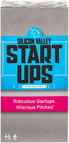 Silicon Valley Startups (Business Game Board)