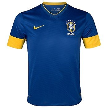 Brazil Away Football Shirt 2012-13 Adult Large