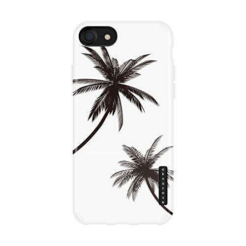 iPhone 8 & iPhone 7 Case Palm Trees, Akna Sili-Tastic Series High Impact Silicon Cover with Full HD+ Graphics for iPhone 8 & iPhone 7 (605-U.S)