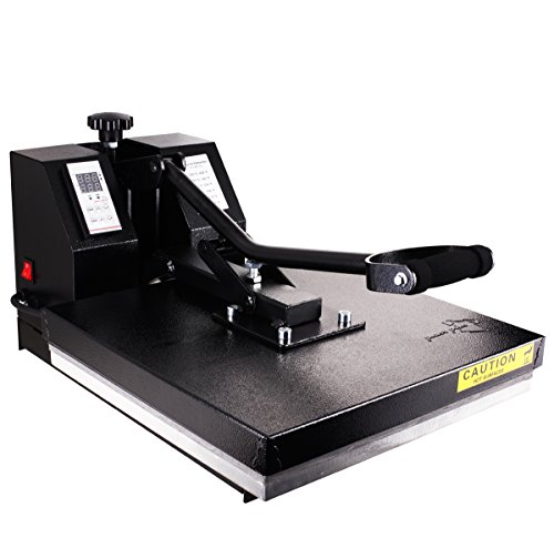 PowerPress Industrial-Quality Digital Sublimation T-Shirt Heat Press Machine, 15