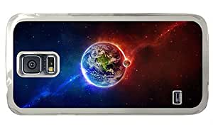 Cheap Samsung S5 new cases Earth and the Moon PC Transparent for Samsung S5,Samsung Galaxy S5,Samsung i9600