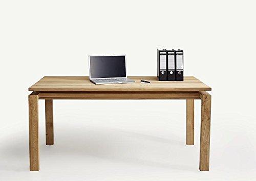 Schreibtisch in Massivholz Kernbuch; Maße: 160x72x80 cm