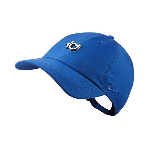 official photos e8480 f9e58 NIKE Men`s KD Heritage 86 QS Adjustable Basketball Hat (Blue Jay (AA3925
