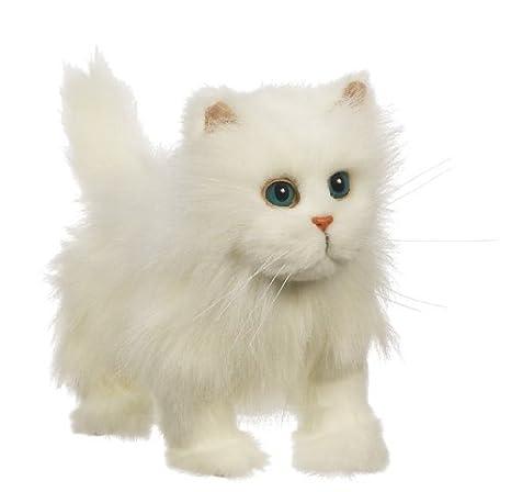 Hasbro 275735 - Gato de peluche con movimiento y sonido, color blanco: Amazon.es: Juguetes y juegos