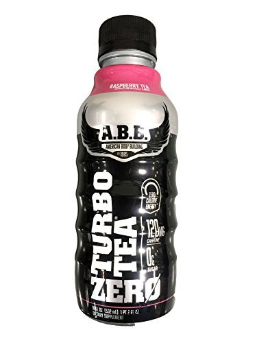 ABB Turbo Tea Zero Raspberry Tea 12 - 18 fl oz (532 ml) Bottles