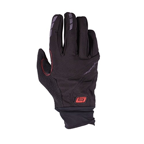 Bellwether Men's Shield Gloves, Black, Large (Shield Finger Full)