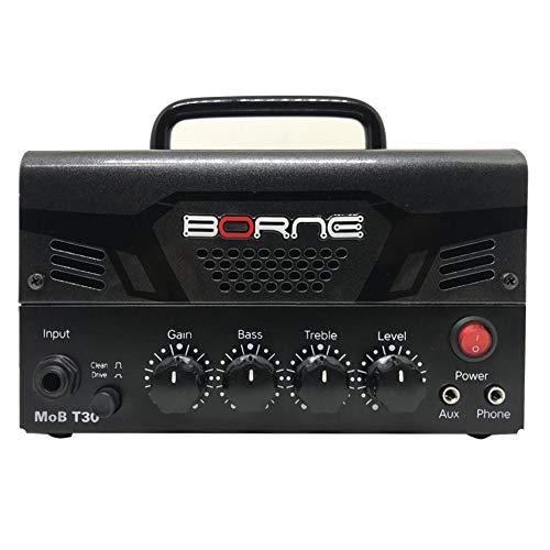 Mini Cabeçote Amplificador Borne MOB T30 30w Chumbo