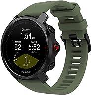 Polar Grit X – Relógio robusto para uso externo com GPS, bússola, altímetro e nível militar de durabilidade pa