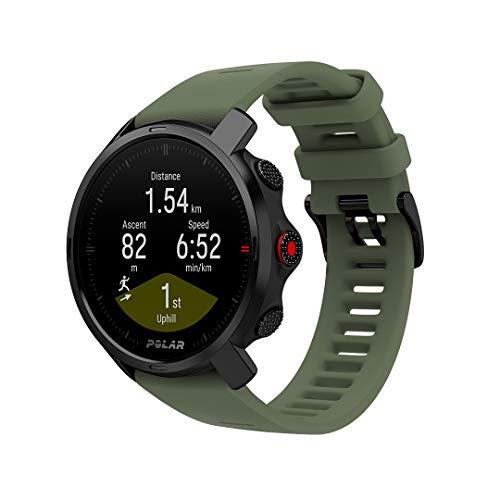 Polar Grit X Outdoor Multisport Watch GPS, kompas, hoogtemeter en robuustheid in lijn met militaire standaard, trail…