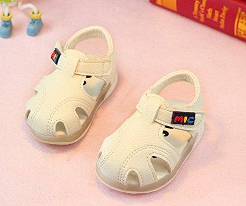 Ohmais Kinder Baby Jungen Baby Mädchen Baby Kleinkind Schuh weich Weiß