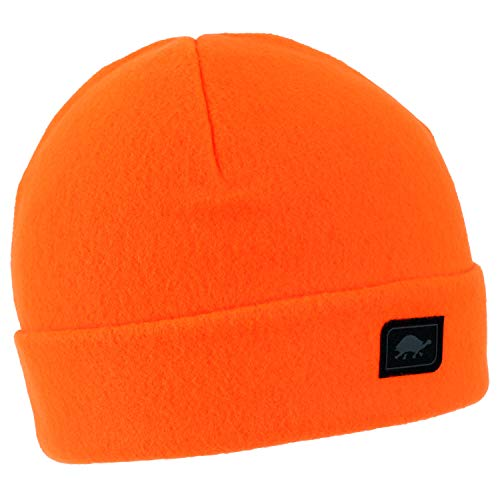 Turtle Fur Original Fleece The Hat, Heavyweight Fleece Watch Cap Beanie, Blaze ()