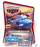 """Dinoco Helicopter Disney World of Cars Edition With """"New!"""" Logo 1:55 Scale Mattel"""