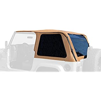 R&age Products 109517 Trail Top - Frameless/Bowless TJ  sc 1 st  Amazon.com & Amazon.com: Rampage Products 89815 TJ Wrangler Door Skins with ...