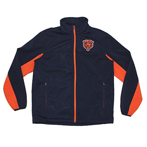 Chicago Bears Pro Quality Zip-Up Fall / Winter Jacket for...