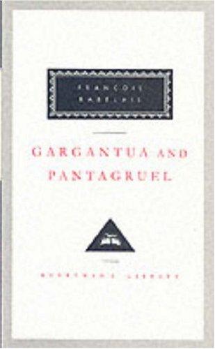 book cover of Gargantua and Pantagruel