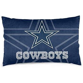 Dalean Custom Throw Rectangular Pillowcases Dallas Cowboys Football Team Soft Pillowslips Pillow Cover Home Design Cushion with Hidden Zipper for Sofa Office Bedroom 20
