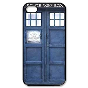Doctor Who DIY Cover Case with Hard Shell Protection for Iphone 4,4S Case lxa#324476