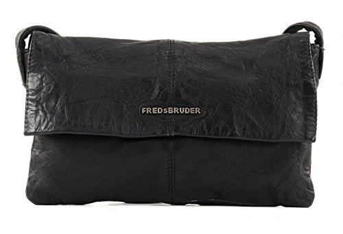 FredsBruder Lift Borsa a tracolla nero