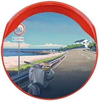 Geng カーブミラー ワイドアングルレンズ、45センチメートル、プラスチックスーパーマーケットセキュリティ監視屋内屋外の信号トラフィック盗難防止ミラー