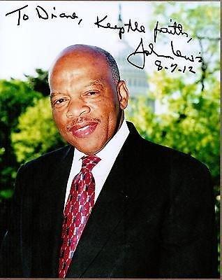 john-lewis-civil-rights-leader-georgia-congressman-signed-photo-coa