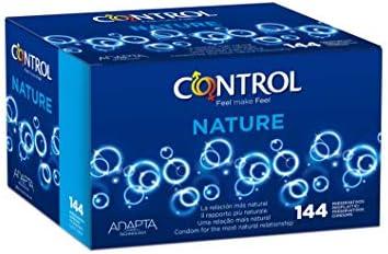 Control Nature Preservativos - Caja de condones con 144 unidades ...
