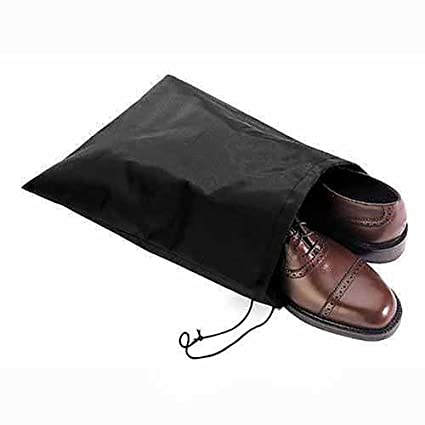 yingyue Moisture-Proof Breathable Drawstring Closure Shoes Storage Bag Home Travel Business Accessories 2Pcs