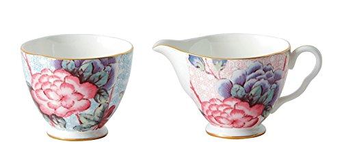 Wedgwood Cuckoo Tea Story Sugar and Creamer Set, Large (Wedgwood Set Teapot)