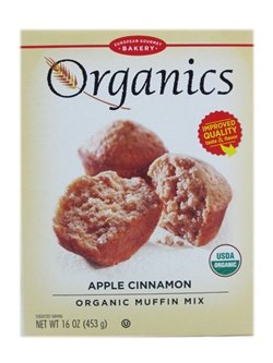 Organic Muffin Mix - European Gourmet Bakery: Organics Apple Cinnamon Muffin Mix (3 X 16 Oz)