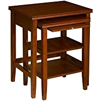 Powell Shelburne Cherry Nested Tables, 2-Piece