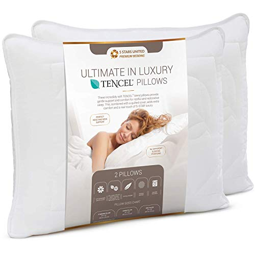 Queen Size Bed Pillows for Sleeping -