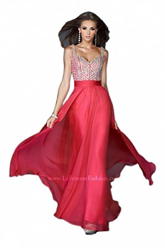 Buy long prom dress by la femme - 7