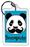 Best PANDA Lettuces - David and Goliath Incognito Mustache Panda Keychain Review