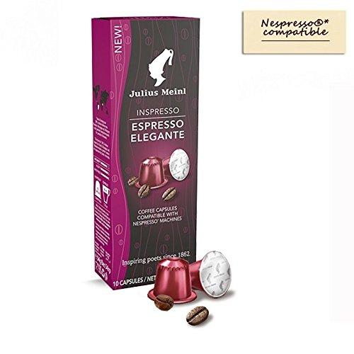 cf5eb6ca8 Julius Meinl - Nespresso compatible - Capsules Espresso Elegante - 10 x  5.4g - Buy Online in Oman.