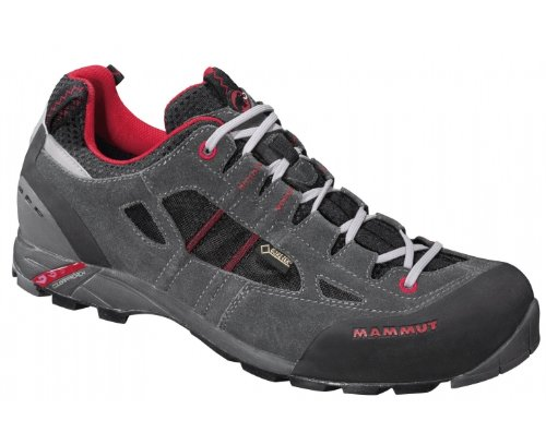 Mammut Redburn Low GTX Men - Outdoorschuhe - graphite GRAPH/FIRE