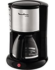 Moulinex FG360811 Libera installazione Macchina da caffè con filtro Nero, Acciaio inossidabile macchina per caffè