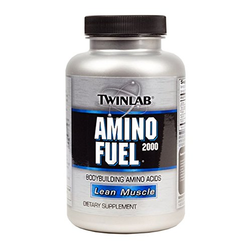 Twinlab Amino Fuel 2000 Body Building Amino Acids, Mass, 50 Tablets