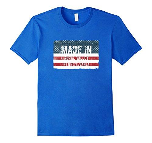 Mens Made in Rural Valley, Pennsylvania T-shirt Medium Royal Blue (Valley Pennsylvania)