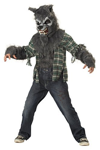Howling At The Moon Werewolf Kids Costume by California (Howling At The Moon Costume)