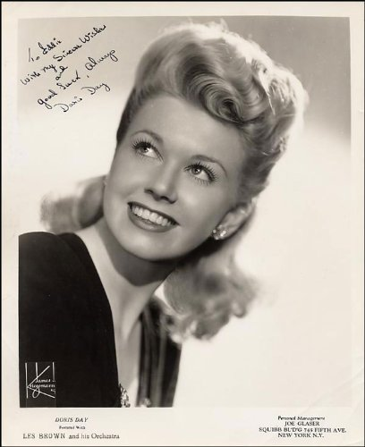DORIS DAY AUTOGRAPH APPROX SIZE 12X8 INCHES PHOTO PRINT