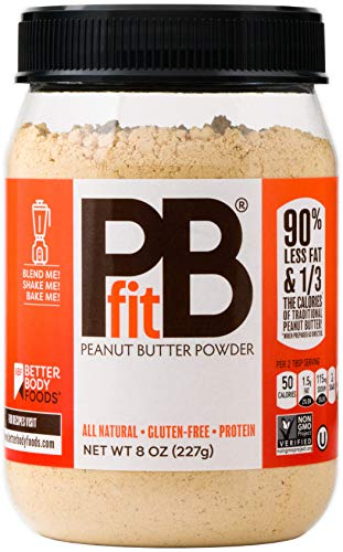 PBfit All-Natural Peanut Butter Powder, 8 Ounce (Dark Soy Sauce Vs Regular Soy Sauce)