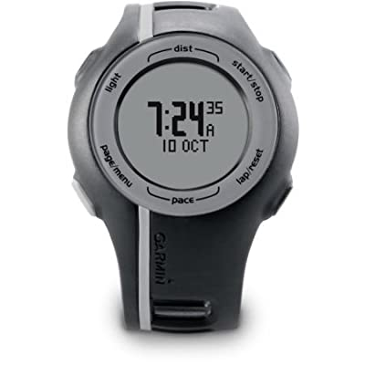 Garmin Forerunner 110 GPS-Enabled Sport Watch with Heart Rate Monitor - Pink (Certified Refurbished)