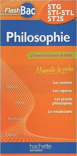 Livre Philosophie STG/STI/STL/ST2S epub, pdf