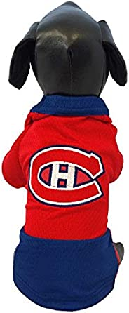 All Star Dogs NHL Unisex NHL Montreal Canadiens Athletic Mesh Dog Jersey