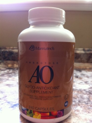 Advanced Ambrotose AO 240 caps by Mannatech